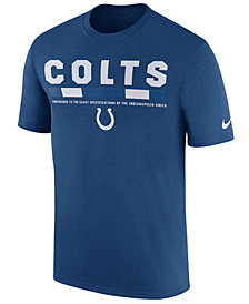 Nike Men's Indianapolis Colts Legend Staff T-Shirt