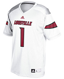 Nike Men's #1 Louisville Cardinals Replica Football Jersey