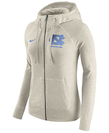 Nike Women's North Carolina Tar Heels Gym Vintage Full-Zip Hoodie