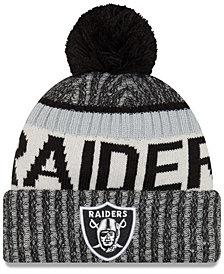 New Era Oakland Raiders Sport Knit Hat