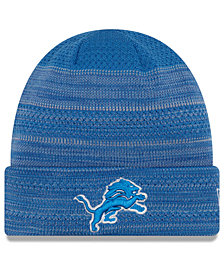 New Era Detroit Lions Touchdown Cuff Knit Hat