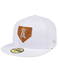 New Era Los Angeles Angels The Logo of Leather 59FIFTY Cap