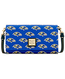 Dooney & Bourke Baltimore Ravens Daphne Crossbody Wallet
