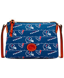 Dooney & Bourke Houston Texans Nylon Crossbody Pouchette