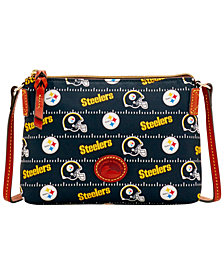 Dooney & Bourke Pittsburgh Steelers Nylon Crossbody Pouchette