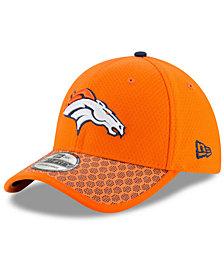 New Era Boys' Denver Broncos 2017 Official Sideline 39THIRTY Cap