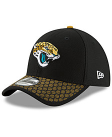New Era Boys' Jacksonville Jaguars 2017 Official Sideline 39THIRTY Cap