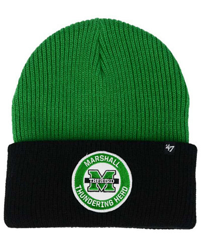 '47 Brand Marshall Thundering Herd Ice Block Knit