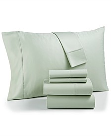 Bradford StayFit 6-Pc. King Sheet Set, 800 Thread Count Combed Cotton Blend