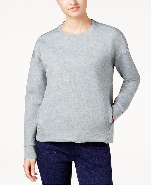 32 Degrees Drop-Shoulder Fleece Top