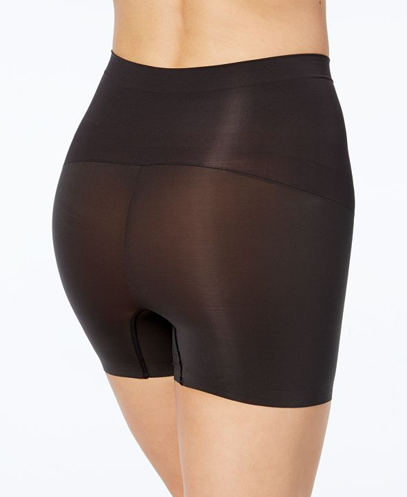 SPANX Black Shape My Day High-Waisted Shorts Womens Size