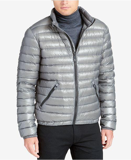 DKNY Men s Packable Puffer Jacket - Coats   Jackets - Men - Macy s 74ef2e47e0cf