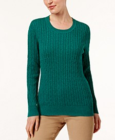 Cotton Marled-Knit Sweater, Created for Macy's
