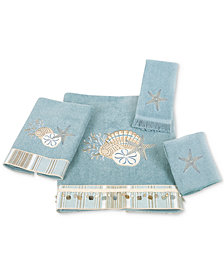 "Avanti ""By the Sea"" Fingertip Towel, 11x18"""
