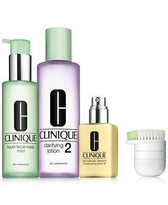 Clinique 4-Pc. 3-Step For Drier Skin Set