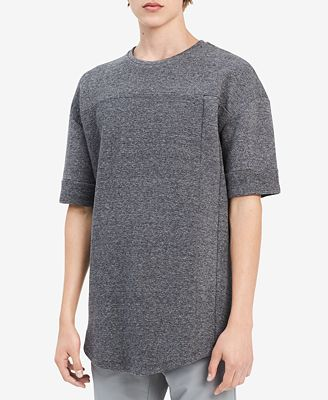 Calvin Klein Men's Combed Cotton Drop-Shoulder T-Shirt, Created for Macy's