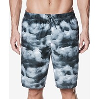 Nike Men's Cumulus Printed Volley Shorts (Black or Volt)