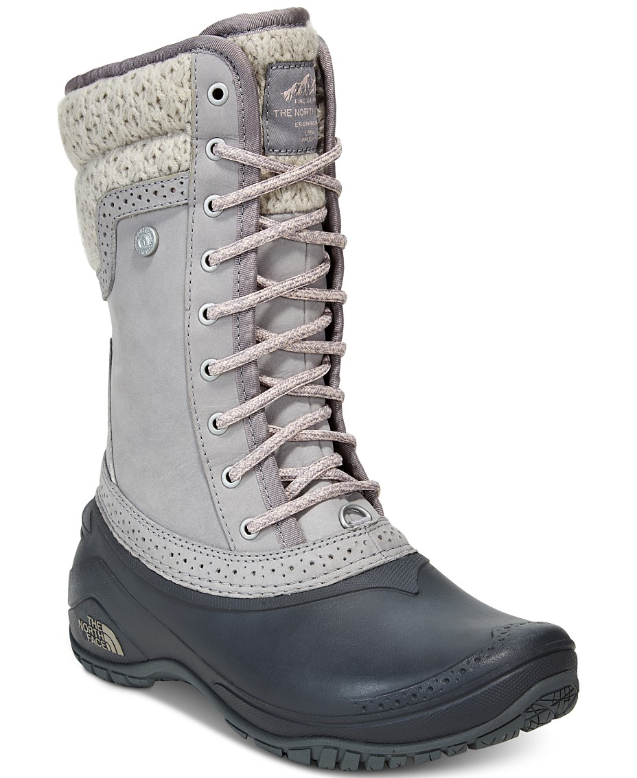 c818b4fa1 The North Face Women's Shellista Waterproof Winter Boots & Reviews ...