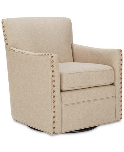 Devrim Swivel Chair, Quick Ship