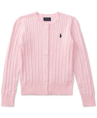 Ralph Lauren Cable Cardigan, Big Girls (7-16) - Sets & Outfits ...