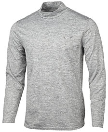 Greg Norman for Tasso Elba Men's Baselayer Mock-Neck Shirt, Created for Macy's