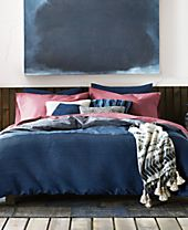 Tommy Hilfiger Vintage Pleated Bedding Collection
