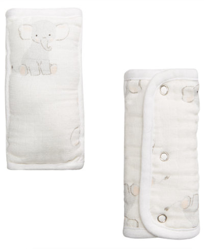 aden by aden + anais 2-Pk. Elephant Strap Covers, Baby Boys & Girls