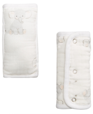 Image of aden by aden + anais Baby Boys & Girls 2-Pk. Elephant Strap Covers