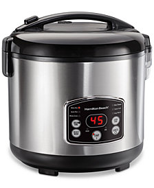 Hamilton Beach® Digital Simplicity Rice Cooker & Steamer