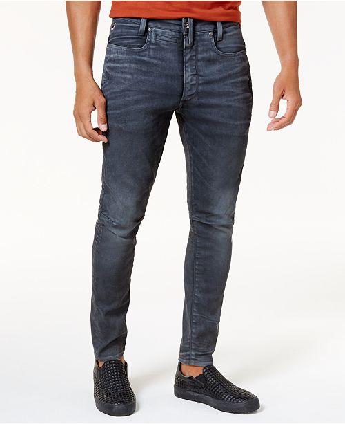 G Star Raw Men's 3D Super Slim Jeans & Reviews Jeans Men