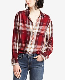 Plaid Shirts For Women: Shop Plaid Shirts For Women - Macy's