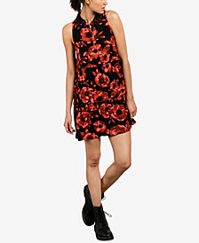 Volcom Juniors' Printed A-Line Dress