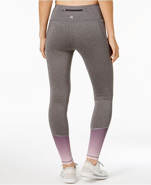 1b4d90af0ff8c9 Ideology Fleece-Lined Colorblocked Leggings, Created for Macy's ...