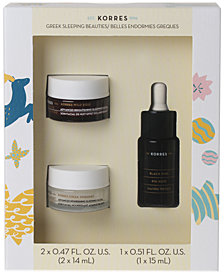 Korres 3-Pc. Greek Sleeping Beauties Gift Set