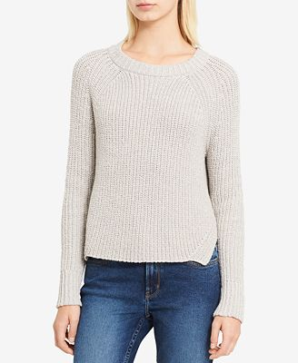Calvin Klein Jeans High-Low Metallic-Detail Sweater