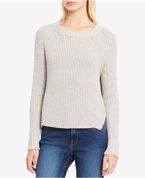 Calvin Klein Jeans High-Low Metallic-Detail Sweater