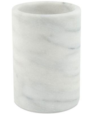 White Marble Wine Chiller & Utensil Crock