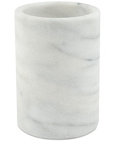 White Marble Wine Chiller & Utensil Crock