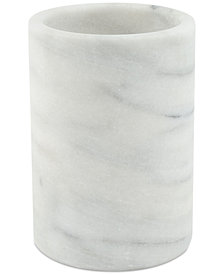 Thirstystone White Marble Wine Chiller & Utensil Crock