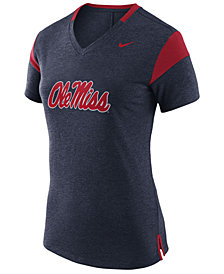 Nike Women's Ole Miss Rebels Fan V Top T-Shirt