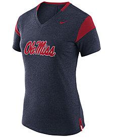 Nike Women's Ole Miss Rebels Fan V Top T-Shirt