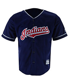 Majestic Cleveland Indians Blank Replica CB Jersey, Toddlers
