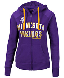 G-III Sports Women's Minnesota Vikings Conference Full-Zip Jacket