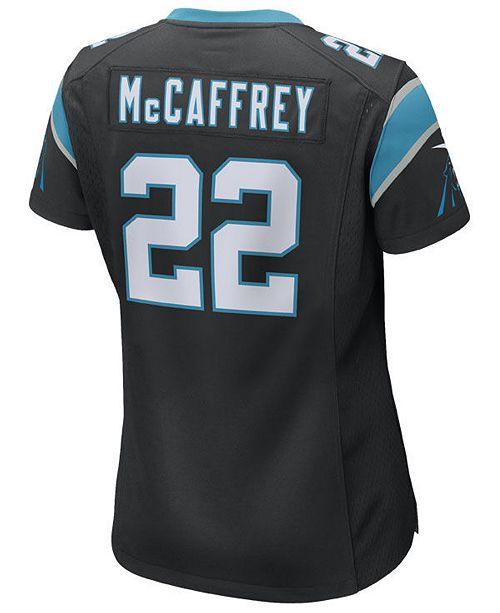 Nike Women's Christian McCaffrey Carolina Panthers Game Jersey  for cheap