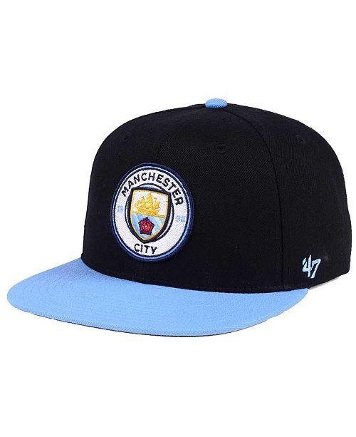47 Brand Manchester City Club Team No Shot CAPTAIN Cap - Sports Fan ... 22d664c35
