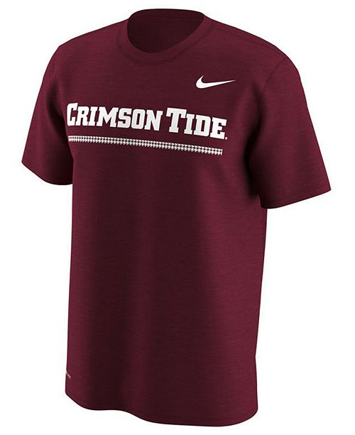 Nike Men's Alabama Crimson Tide Fresh Trainer Hook T-Shirt aE69GQJ