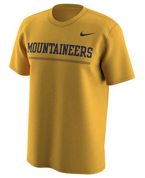 Nike Men's West Virginia Mountaineers Fresh Trainer Hook T-Shirt