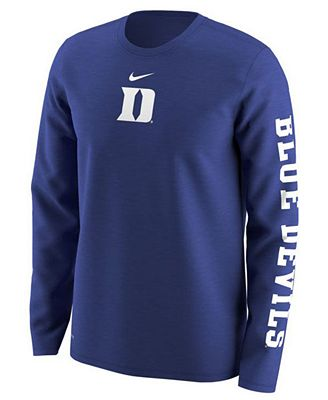 Nike Men's Duke Blue Devils Fresh Trainer Hook T-Shirt DonMGi