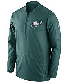 Nike Men's Philadelphia Eagles Lockdown Quarter-Zip Jacket