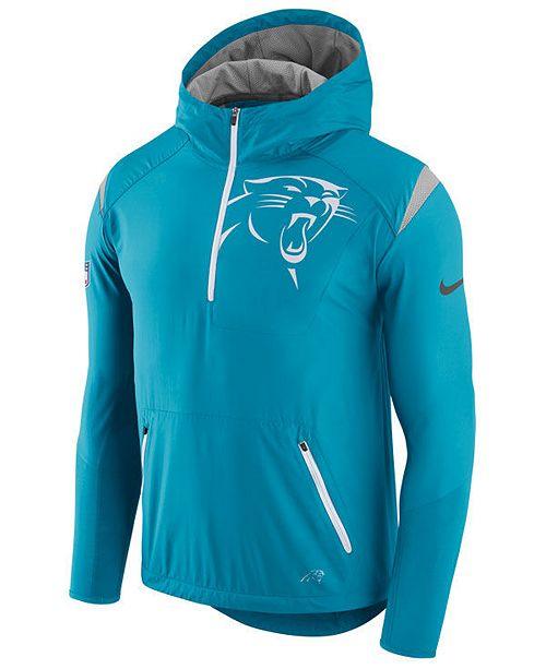 best website bea03 2899f Nike Men's Carolina Panthers Lightweight Fly Rush Jacket ...